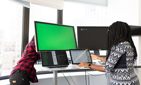 Developers at Studio Blue